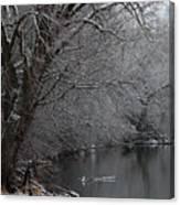 Winter Calm Canvas Print