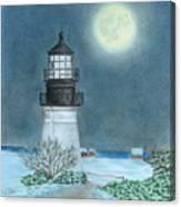 Winter Coast Canvas Print
