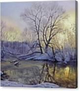 Winter Dawn Canvas Print