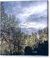 Winter Day 3 Canvas Print