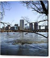 Winter Day At Belle Isle Canvas Print