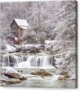 Winter Day At The Mill  Canvas Print