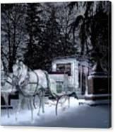 Winter Departure   Canvas Print