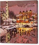 Winter Eve Canvas Print