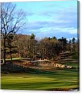 Winter Golf Canvas Print