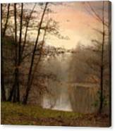 Winter Haze Canvas Print