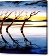 Winter Heatwave Canvas Print