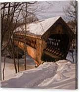 Winter Henniker Canvas Print