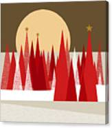 Winter Holiday Canvas Print