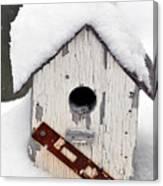Winter Home Canvas Print