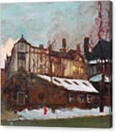 Winter In Buffalo Canvas Print