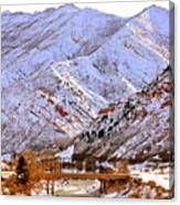 Winter In Grand Junction Canvas Print