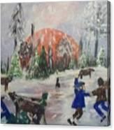 Winter In Louisiana Canvas Print