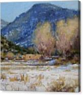 Winter In New Mexico Canvas Print