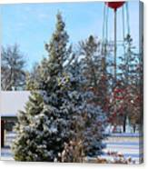 Winter In Pequot Lakes Canvas Print