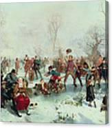 Winter In Saint James's Park Canvas Print