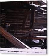 Winter Inside Canvas Print