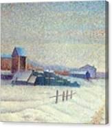 Winter Landscape 1885 Canvas Print