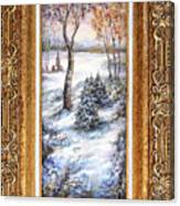 Winter. Canvas Print