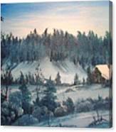 Winter Meadow Canvas Print