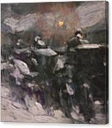 Winter Midnight                         Canvas Print