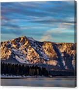 Winter Morning South Lake Tahoe Canvas Print