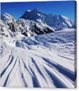 Winter Mount Shuksan Canvas Print