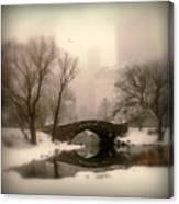 Winter Nostalgia Canvas Print