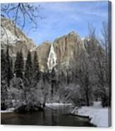 Winter Of Yosemite Canvas Print