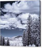 Winter On 89a Canvas Print