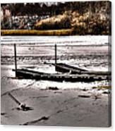 Winter On The Bay Canvas Print