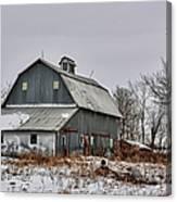 Winter On The Farm 2 Canvas Print