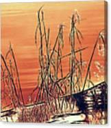 Winter Orange Canvas Print