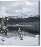 Winter Paradise Canvas Print