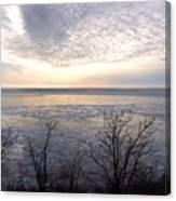 Winter Pastels Canvas Print