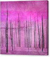 Winter Pink  7913pink Canvas Print