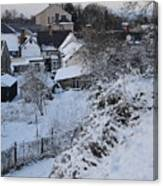 Winter Scene In North Wales Canvas Print