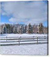 Winter Scenery 14589 Canvas Print