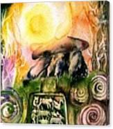 Winter Solstice , Ancient Stones Of Ireland   Canvas Print