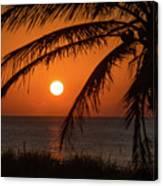 Winter Solstice Sunrise 2 Delray Beach, Florida Canvas Print