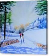 Winter Sonnet  Canvas Print