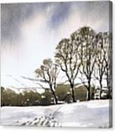 Winter Sowood Canvas Print