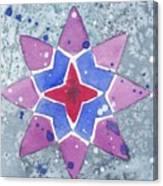 Winter Star Canvas Print