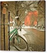 Winter Stockholm  Swiss  Canvas Print