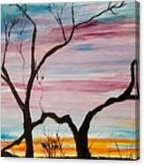 Winter Sunrise                    74 Canvas Print