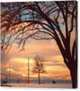 Winter Sunrise Canvas Print