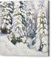 Winter Tale Canvas Print