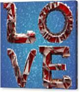 Winter Time Love Canvas Print