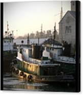 Winter Tugs Canvas Print