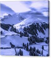 Winter Vista Canvas Print